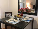 Comfortable Dining Area - Seating for Four
