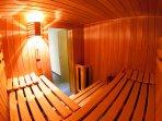 Sauna - Bild 1 - Ferienwohnung Murmeltier Albtal
