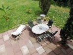 Terrasse - Bild 1 - Ferienwohnung Murmeltier Albtal