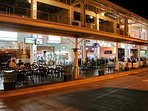 The Restaurant Zone is just 10 minutes very safe walk & you can order in too.