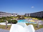full resort amenities on the beautiful oceanfront at Atlantic Beach, NC
