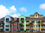 Complex faces the beach and only one mile to Moody Gardens and the Galveston Convention Center