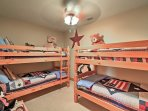 The kids will love these twin-over-twin bunk beds!