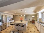 With granite counters, an island and all the essential cooking appliances, you'll release your inner chef with ease.