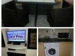 Washing machine entertainment unit