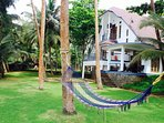 A private homestead at a relatively private and friendly beach near Kozhikode (Calicut)