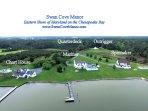 Swan Cove Manor -Weddings / Family Reunions - 22 ac. Chesapeake Waterfront Estate - Sleeps 48+