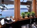 Kitchen ocean views.