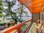 Master bedroom deck.