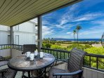 Gorgeous ocean view from Wailea Ekolu #911
