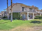 The condo is less than 4 miles from downtown Palm Springs!