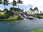 Waterfall at the 12th Tee of Ko Olina Golf Course