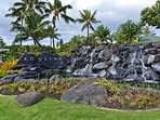 Waterfall at Entrance to Ko Olina