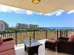 Lanai with Beautiful Ocean View