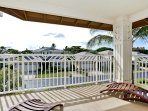 Large Lanai off the Master Bedroom