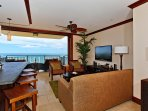 Living Area to Beach Front
