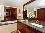 Large European Style Master Bathroom