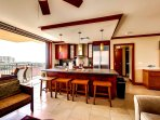 Breakfast Bar at Kitchen Counter