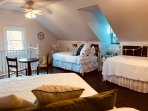 3rd floor Attic Bedroom