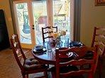 Kitchenette seats 4