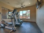 Stay true to your workout routine with the community fitness center.
