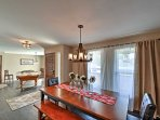 This home offers tons of natural light and 2 pristine dining areas.