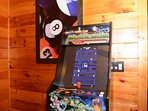 Multicade features some of your favorite past time games like Pacman, Galaga and Donkey King