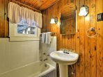 The home is equipped with 3 bathrooms.