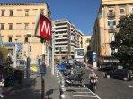 Metro linea 1uscita Battistello Caracciolo