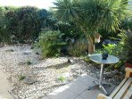 Sunny and secluded front garden