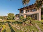Side view - Villa Russelia in Rhodes