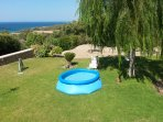 Inflatable pool for kids - Villa Russelia in Rhodes