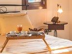 Breakfast in the bedroom - Villa Russelia in Rhodes