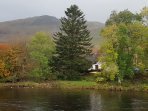 Looking across the River Orchy to Craig Lora