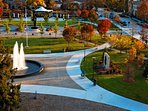 Shain Park downtown Birmingham