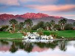 SOME OF THE MAGICAL VIEWS AND GOLF COURSES HERE AT MISSION HILLS IN RANCHO MIRAGE, CALIFORNIA.