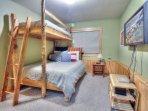 Bedroom #4 - Twin Over Double Bunk Beds