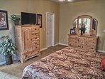 Master Bedroom New Tv