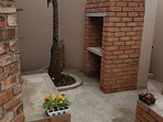 Your own private babercue, build in seating bunks, lovely private garden, relaxing environment