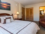 Spacious master bedroom with attached master bath