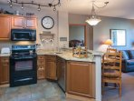 Open floor plan gives you lots of space to relax