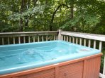 Very Private Hot Tub!