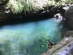 Makaha Icy Ponds hike a mile from 'Endless Summer Oceanfront Escape!'