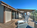 Soak up the sun on the upper deck of this beautiful Prescott home.