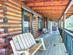 Plan your next Gatlinburg escape to this rustic vacation rental cabin.