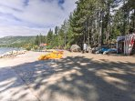 Rent a boat to take on Lake Tahoe from Kings Beach 30 minutes away.