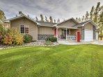 Start your idyllic Idaho adventure at this 3-bedroom, 3-bathroom vacation rental house in Rexburg!