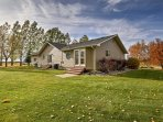 This beautiful country home offers easy access to countless outdoor activities and natural attractions!