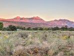 Fantastic views of the La Sal Mountains await!
