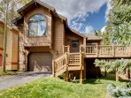 Escape to the mountains of Breckenridge when you stay at this 3-bedroom, 3-bathroom vacation rental house!